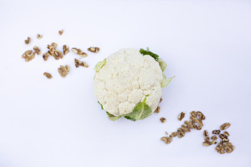 Cauliflower, Herb and Walnut Sauté