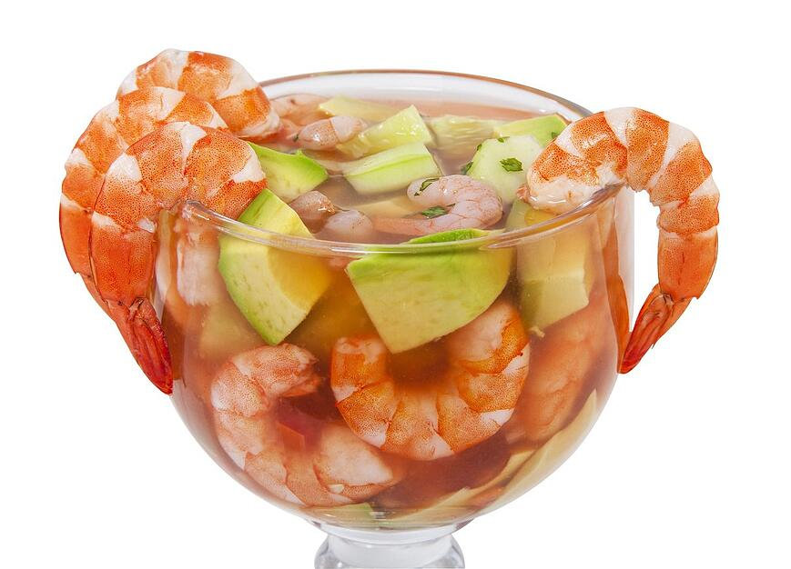 shrimp cocktail with a mexican twist