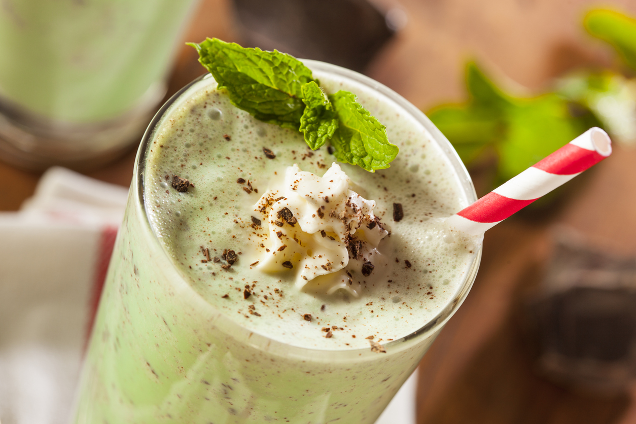 Mint Chocolate Chip Shake