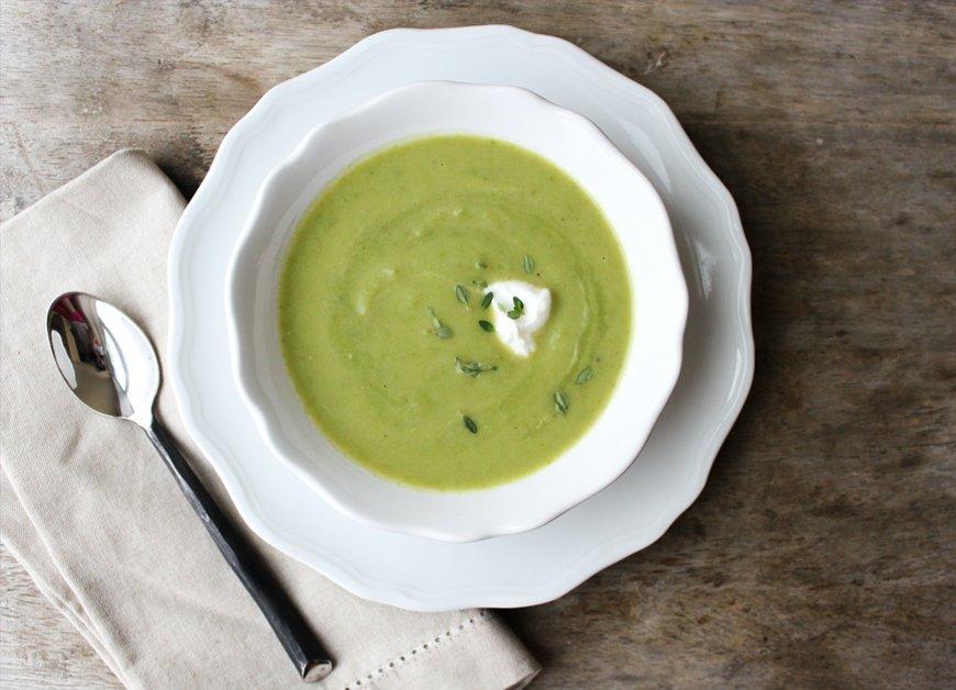 yummy asparagus soup